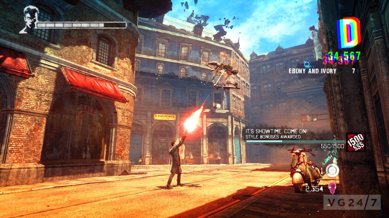 Ram X4 >> DmC Devil May Cry hits PC January 25, recommended specs released - VG247
