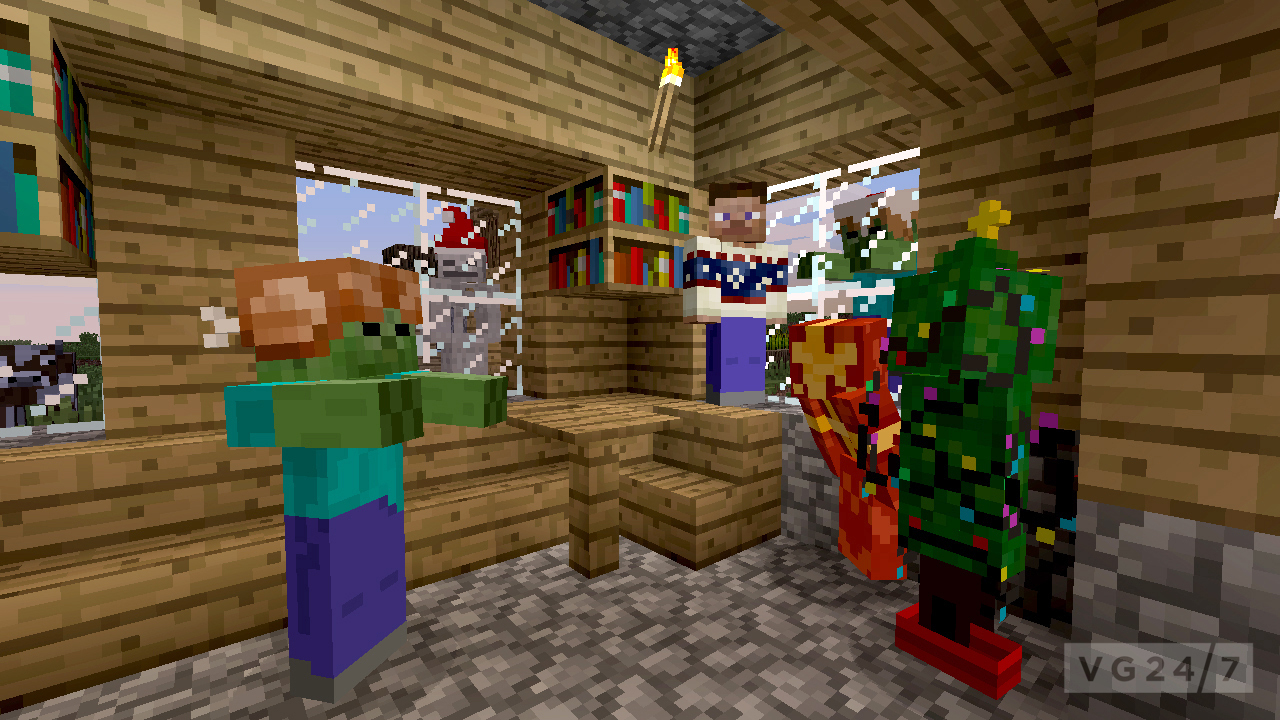 minecraft xbox 360 edition festive skin pack coming soon. Black Bedroom Furniture Sets. Home Design Ideas