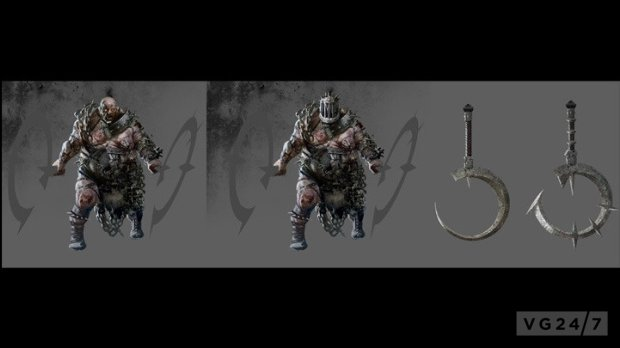 Dark Souls 2 Concept Art Shows Beasts Weapons Amp Locations Vg247