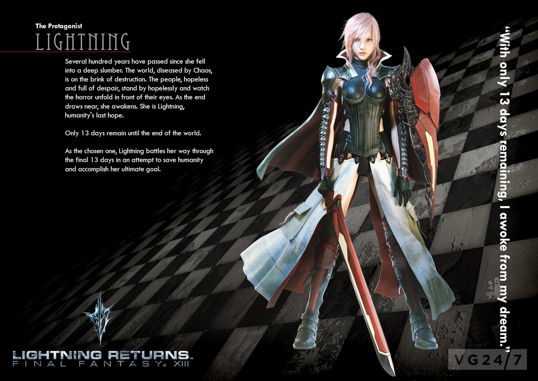 Lightning Returns: Final Fantasy XIII New Screenshots