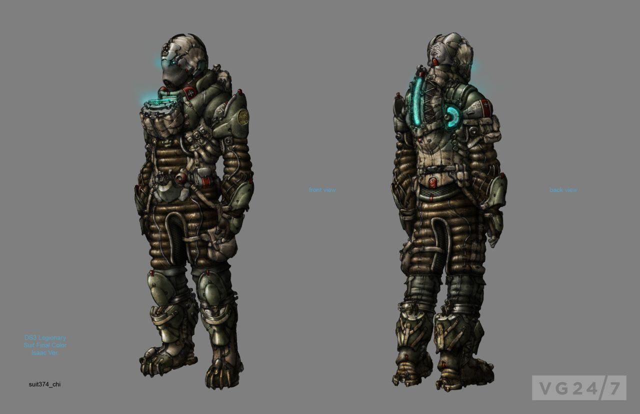 Dead Space Suits Concept Art - Pics about space