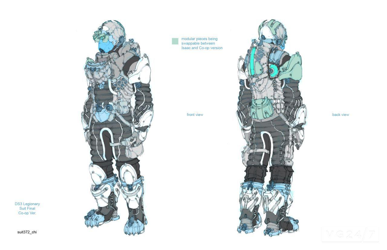 dead space 3 suits - photo #26