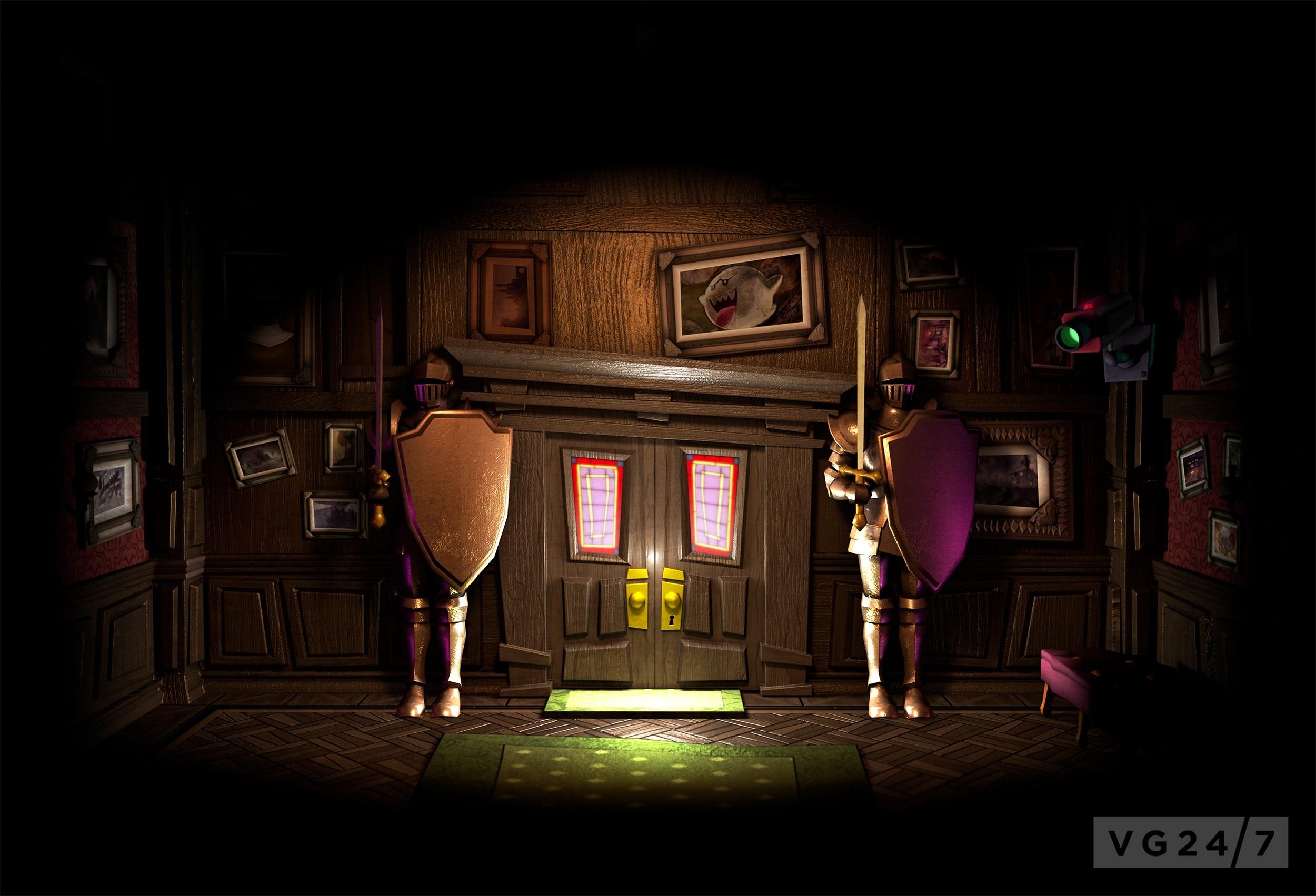 Luigi S Mansion Dark Moon Box And Artwork Revealed