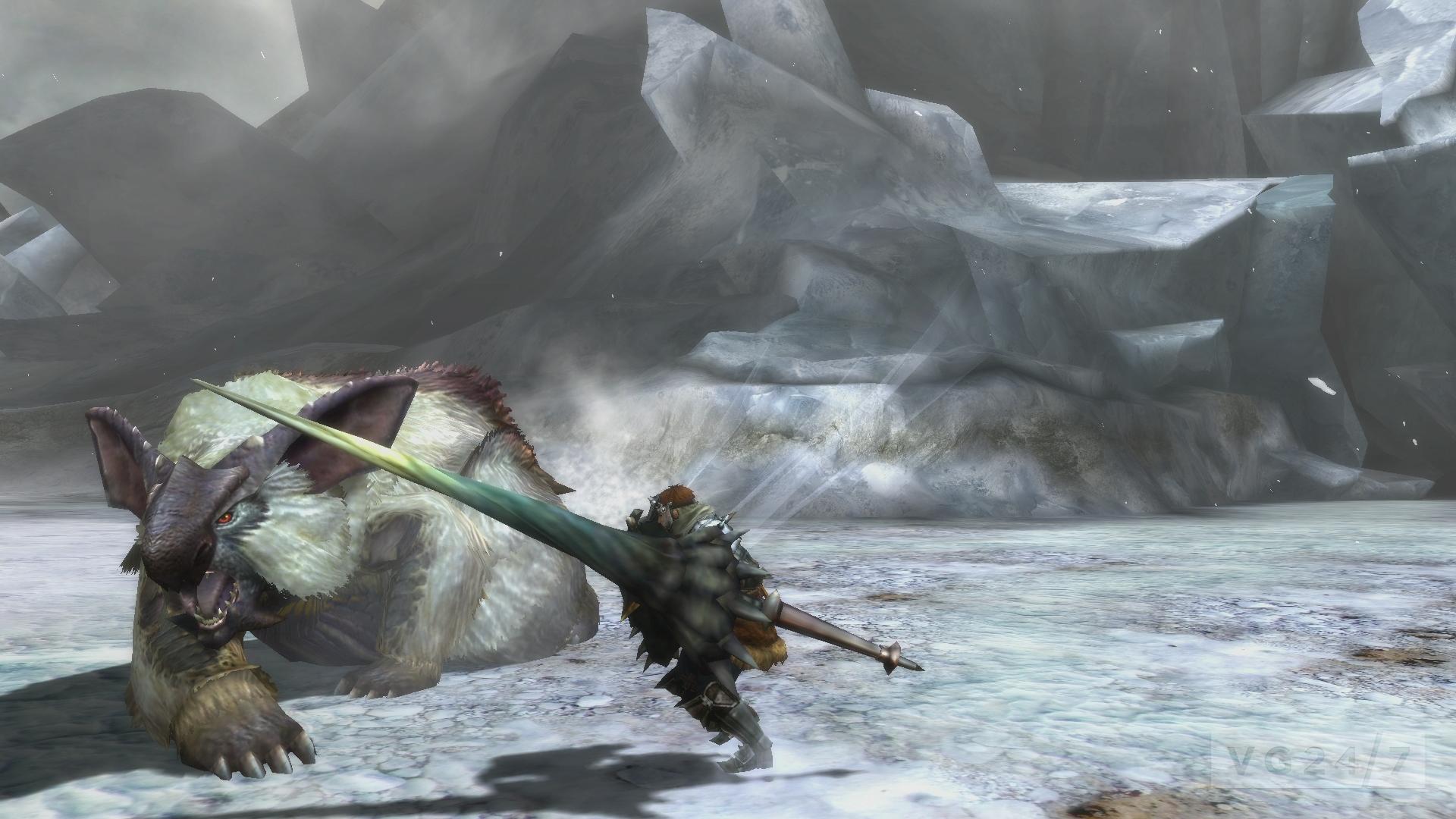 Monster hunter ultimate s new enemies include volvidon