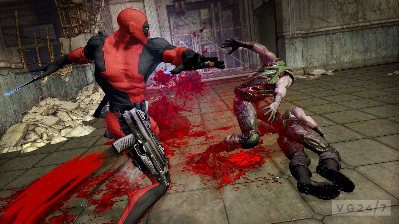 Deadpool gory new screens show a pissed off cable vg247 for Dead pool show in jaipur