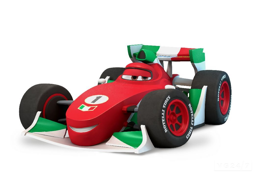 Disney Infinity Screens And Video Show The Cars Play Set