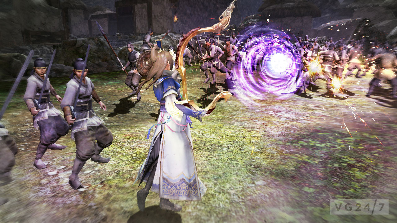 Dynasty Warriors 8 screens show tons of light-heavy-light ...