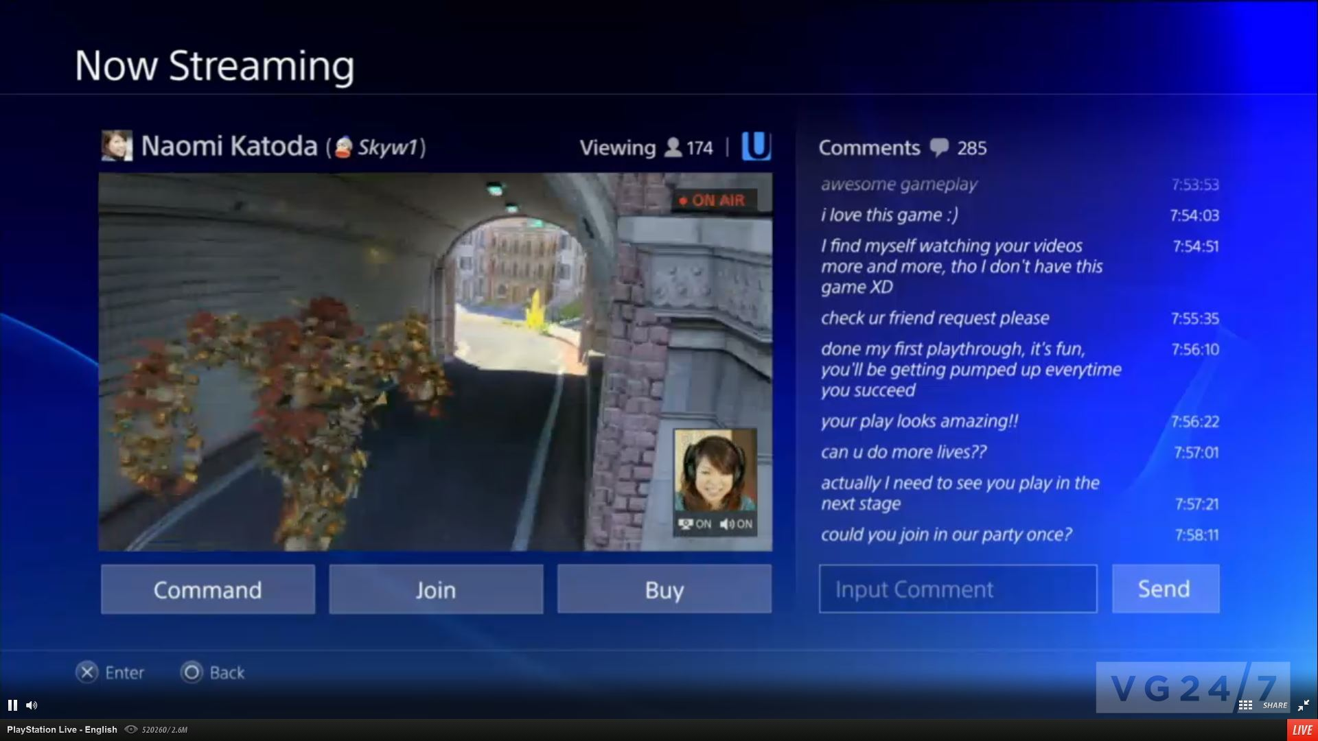 how to go live on facebook from ps4