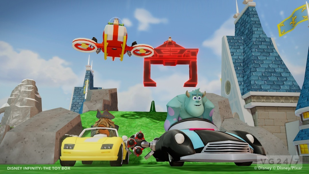 Disney infinity screens show off Monsters University ...