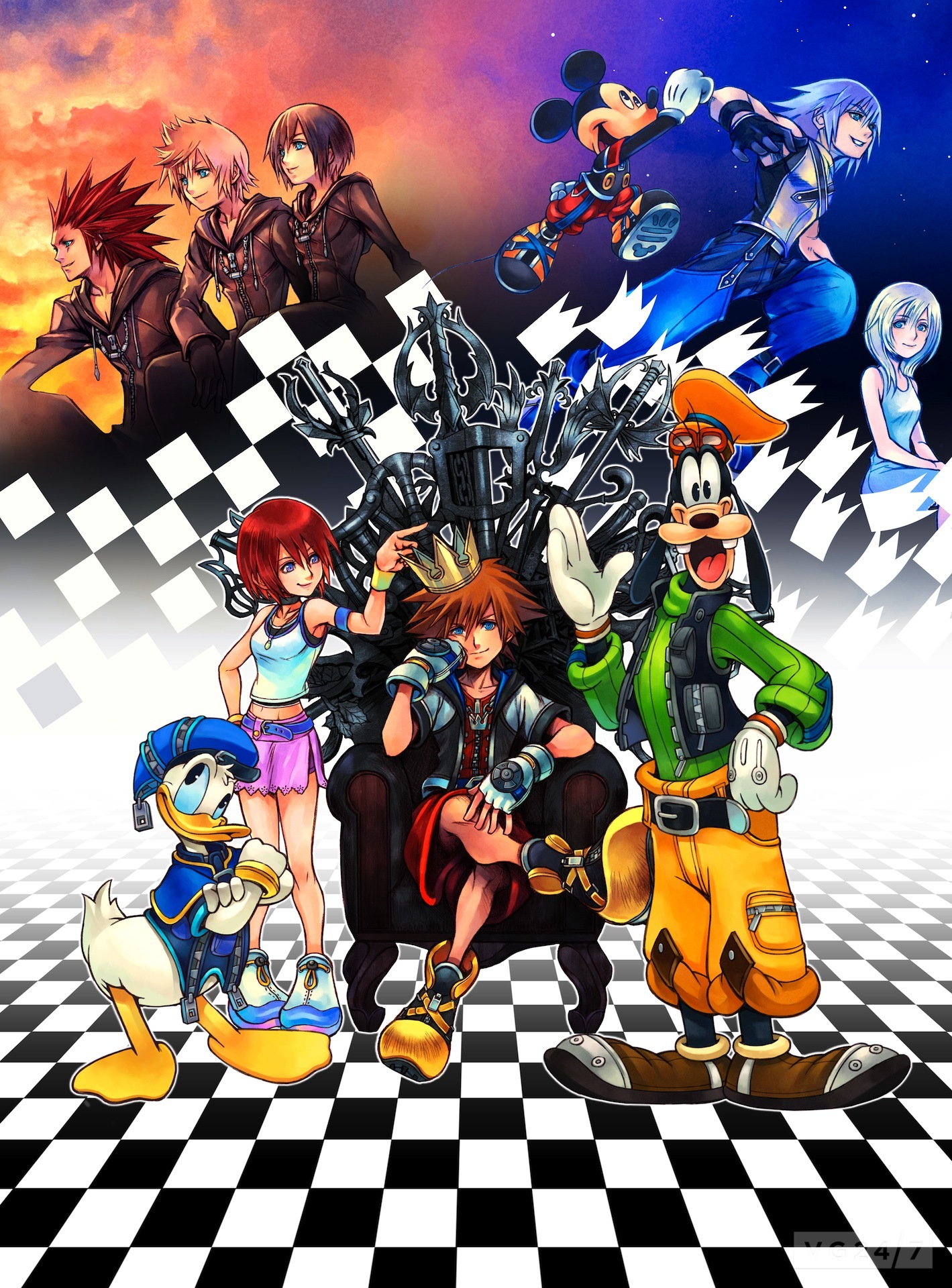 Kingdom Hearts HD 1.5 ReMIX screens look much the same in ...