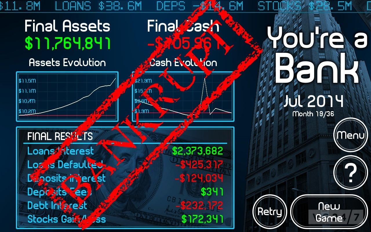 bank games