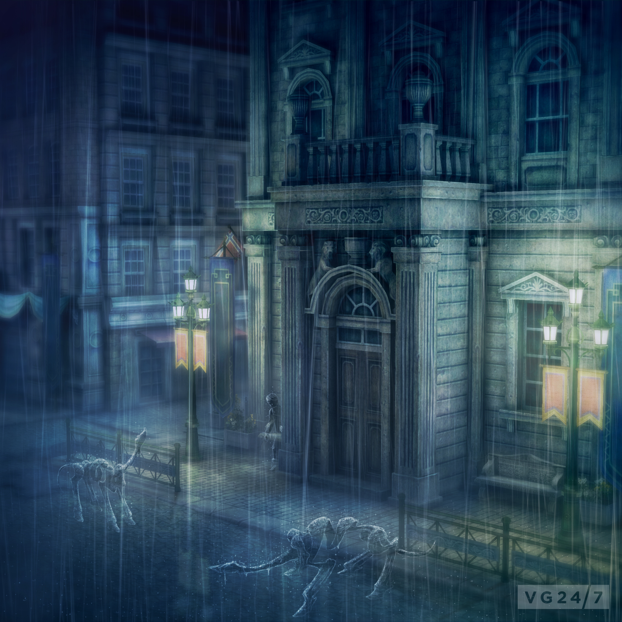 Rain screenshots and concept art released out of GDC - VG247