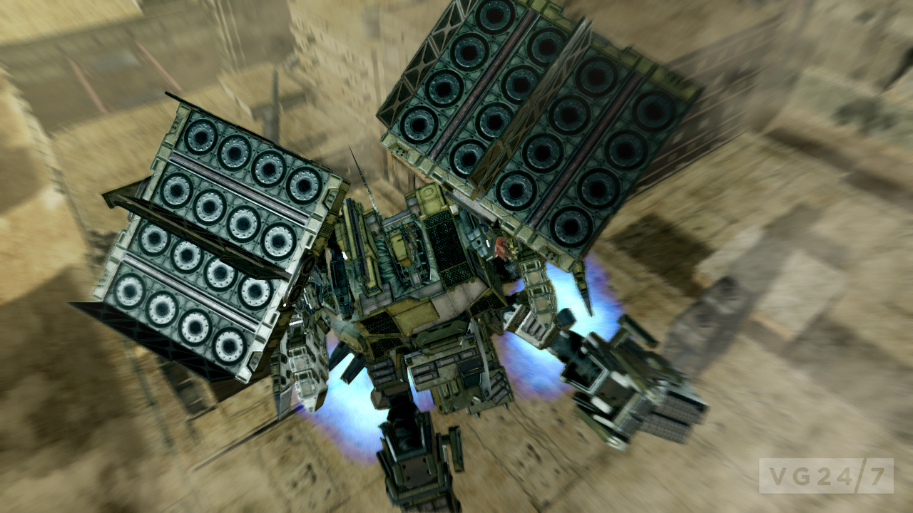 armored core walkthrough