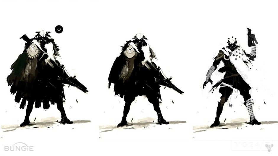 Destiny new concept art shows locations outfits and characters