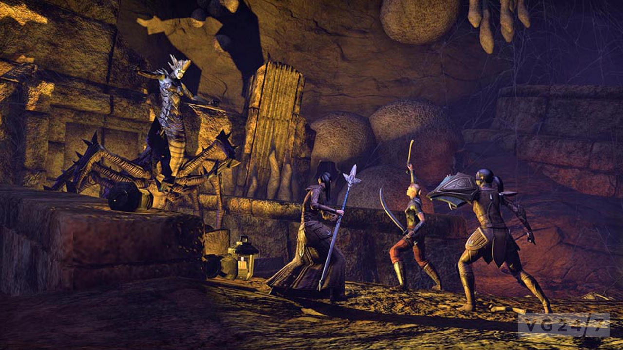 The Elder Scrolls Online New Screens Show Bards Bugs And Battles  VG247