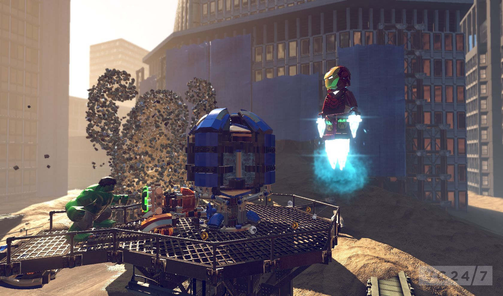 LEGO Marvel Super Heroes screenshots show an adorable Iron ...