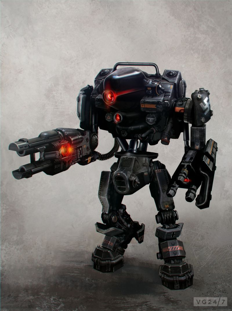 Wolfenstein The New Order Concept Art Screens Released