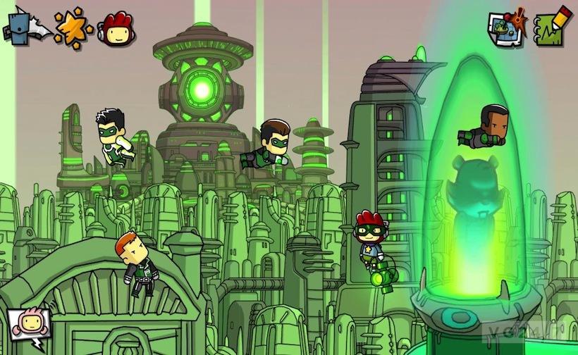 Scribblenauts Unmasked A Dc Comics Adventure Announced