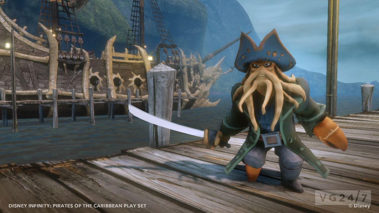 Disney Infinity shots show off the Pirates of the ...