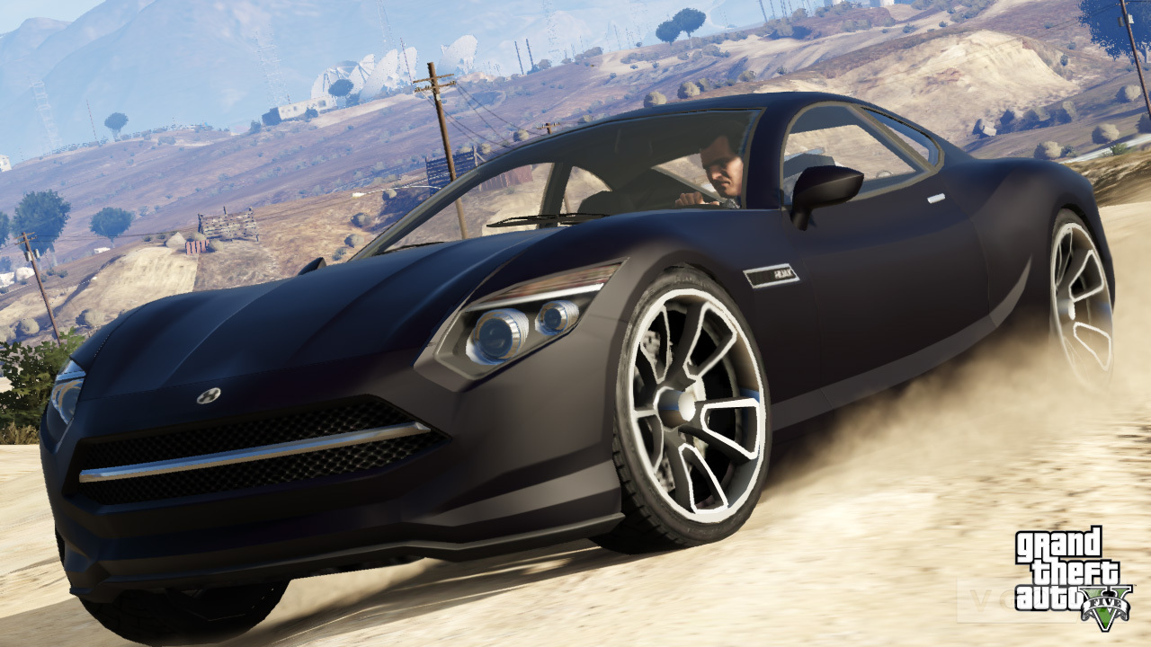 grand theft auto 5 screens are heavy on vehicles vg247. Black Bedroom Furniture Sets. Home Design Ideas