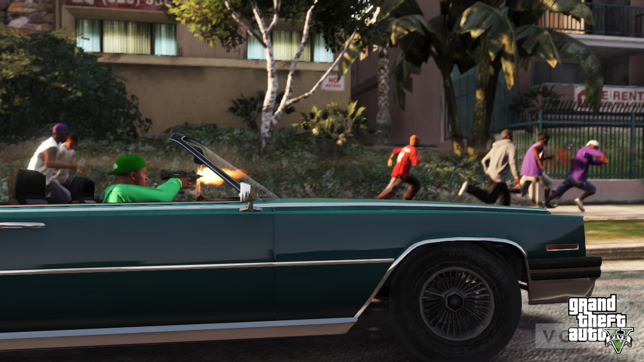 Grand Theft Auto 5 screens are heavy on vehicles - VG247