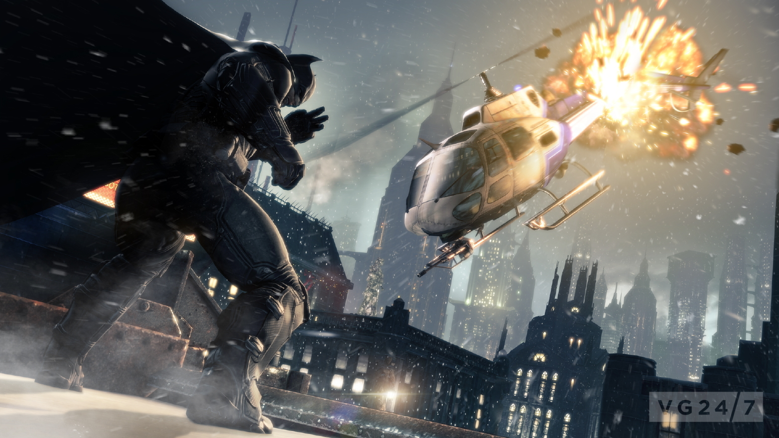 Batman: Arkham Origins E3 shots show Bane & Anarky in ...