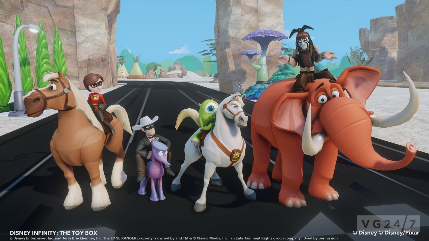 Disney Infinity Shots And A Trailer Show Off The Lone
