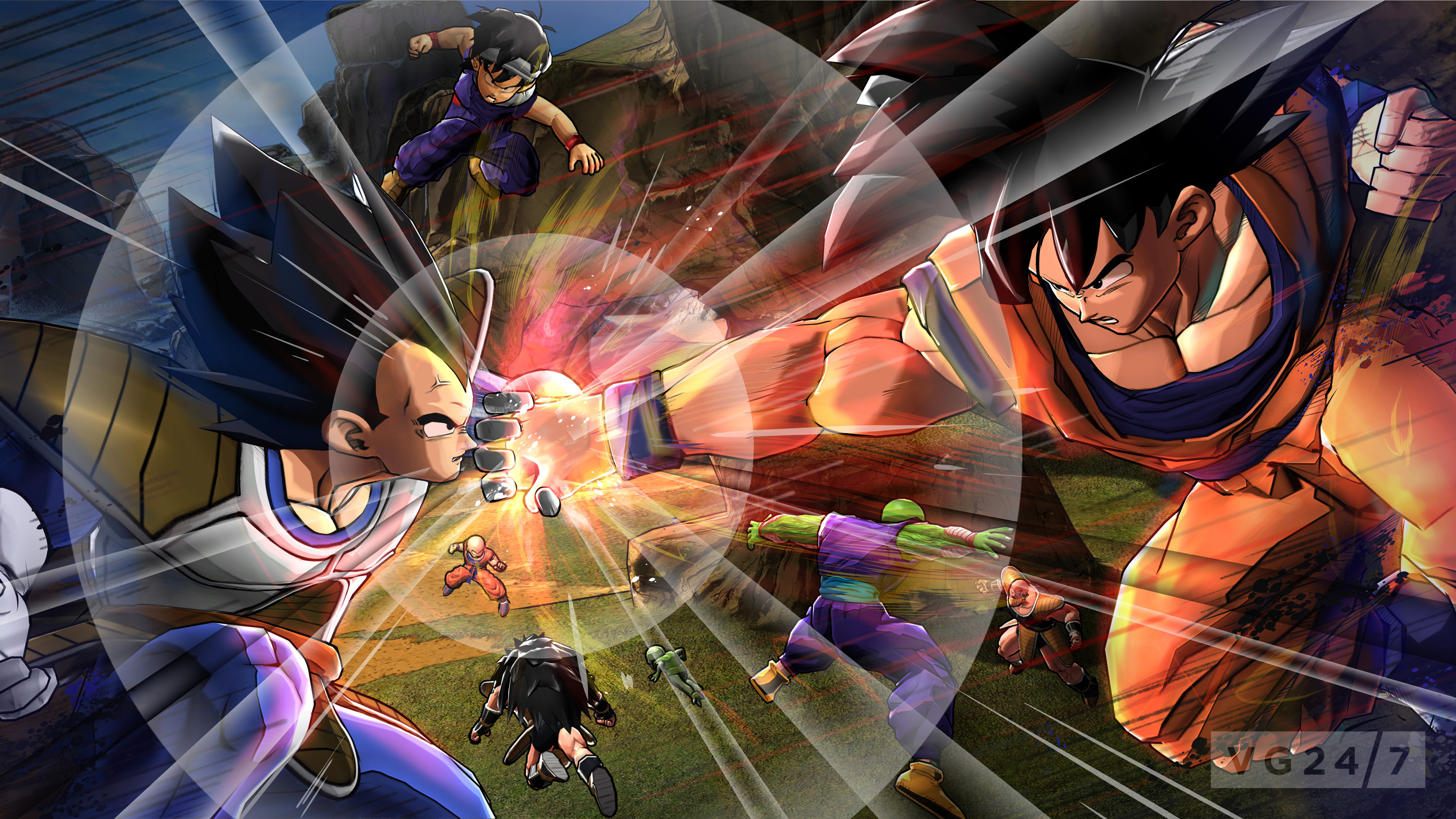 Dragon ball z battle of z announced trailer details - 3d wallpaper of dragon ball z ...