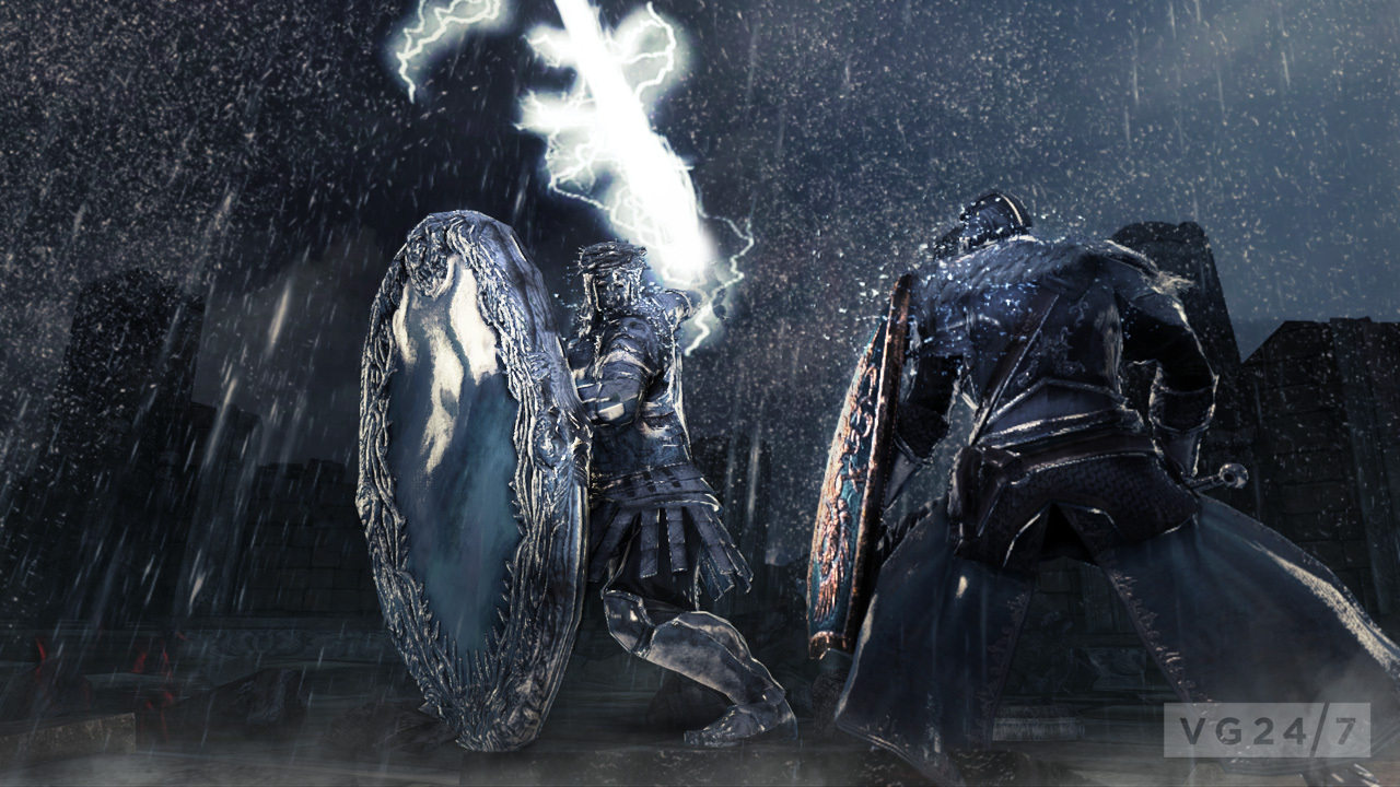 Dark souls 2 screens and concept art are dark some a bit for Mirror knight