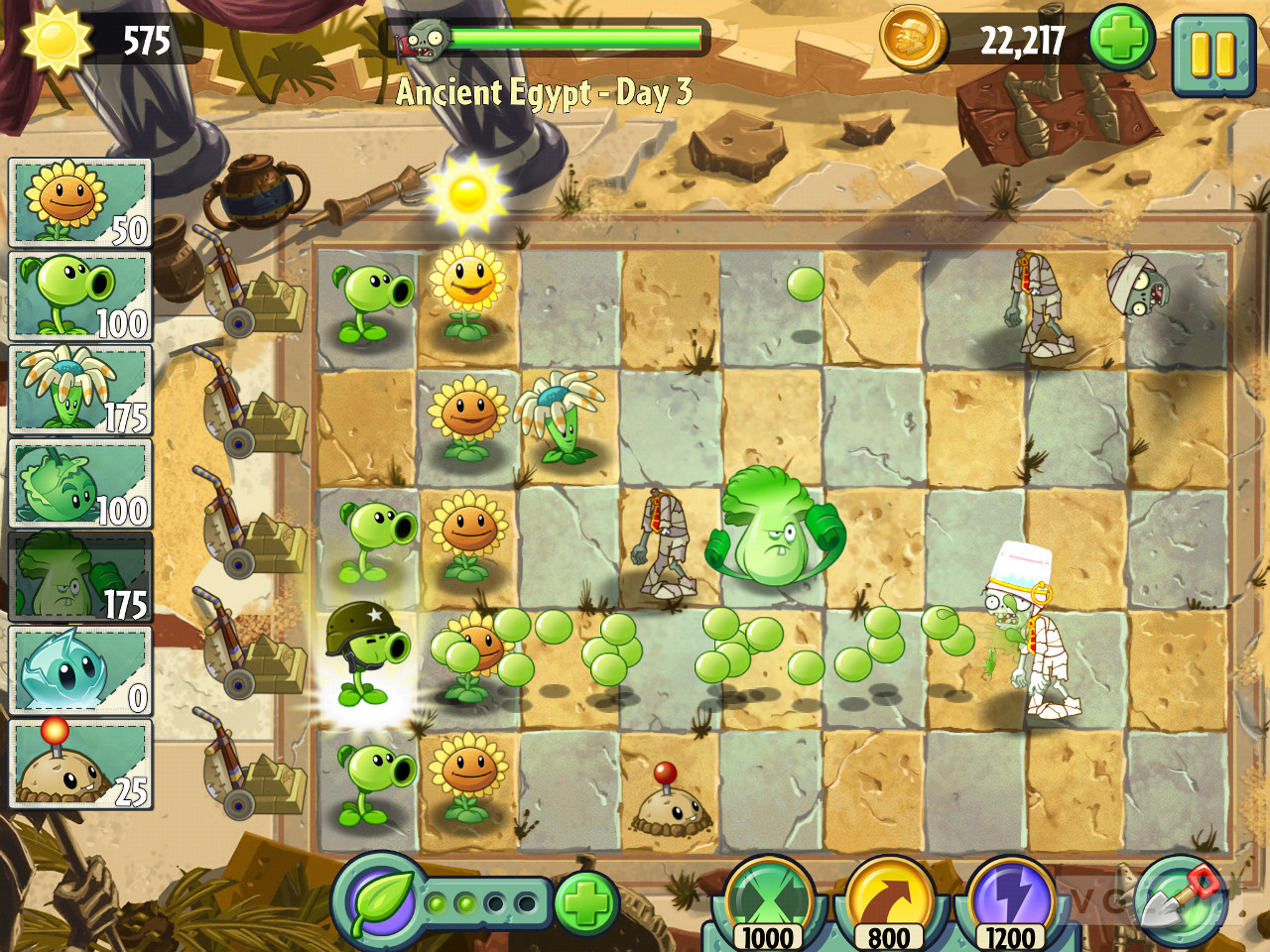 Plants vs zombies 2 it's about time dated is free to play