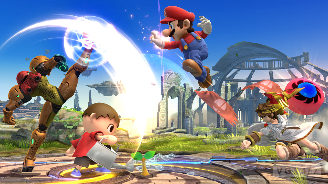 Smash Bros Wii U : Super smash bros wii u and ds revealed coming