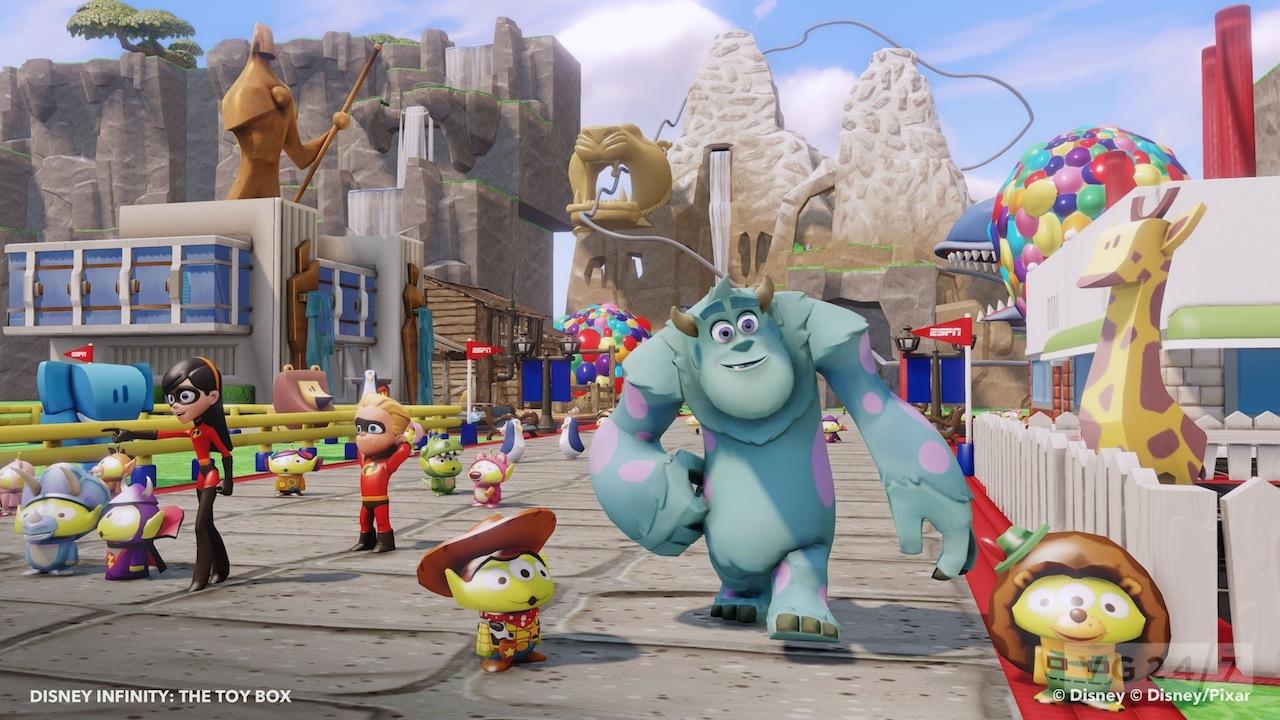 Disney Infinity trailer demos Toy Box mode world creation | VG247: www.vg247.com/2013/06/26/disney-infinity-trailer-demos-toy-box-mode...
