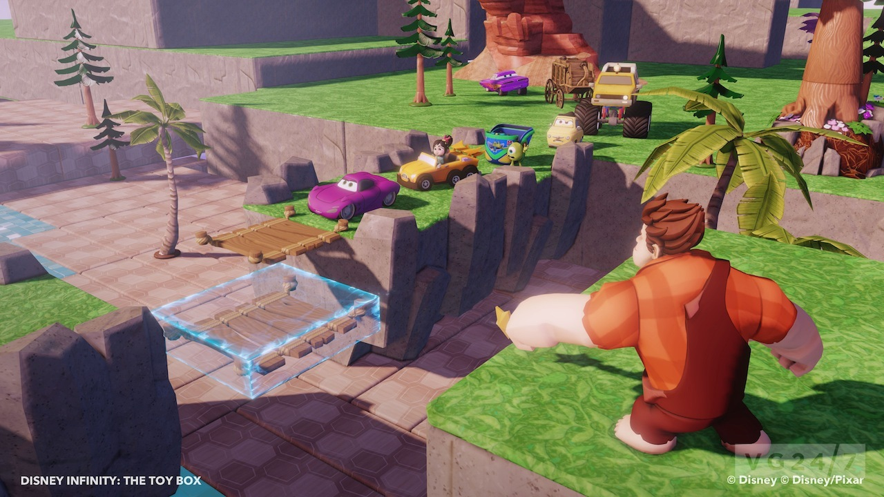 disney infinity trailer demos toy box mode world creation