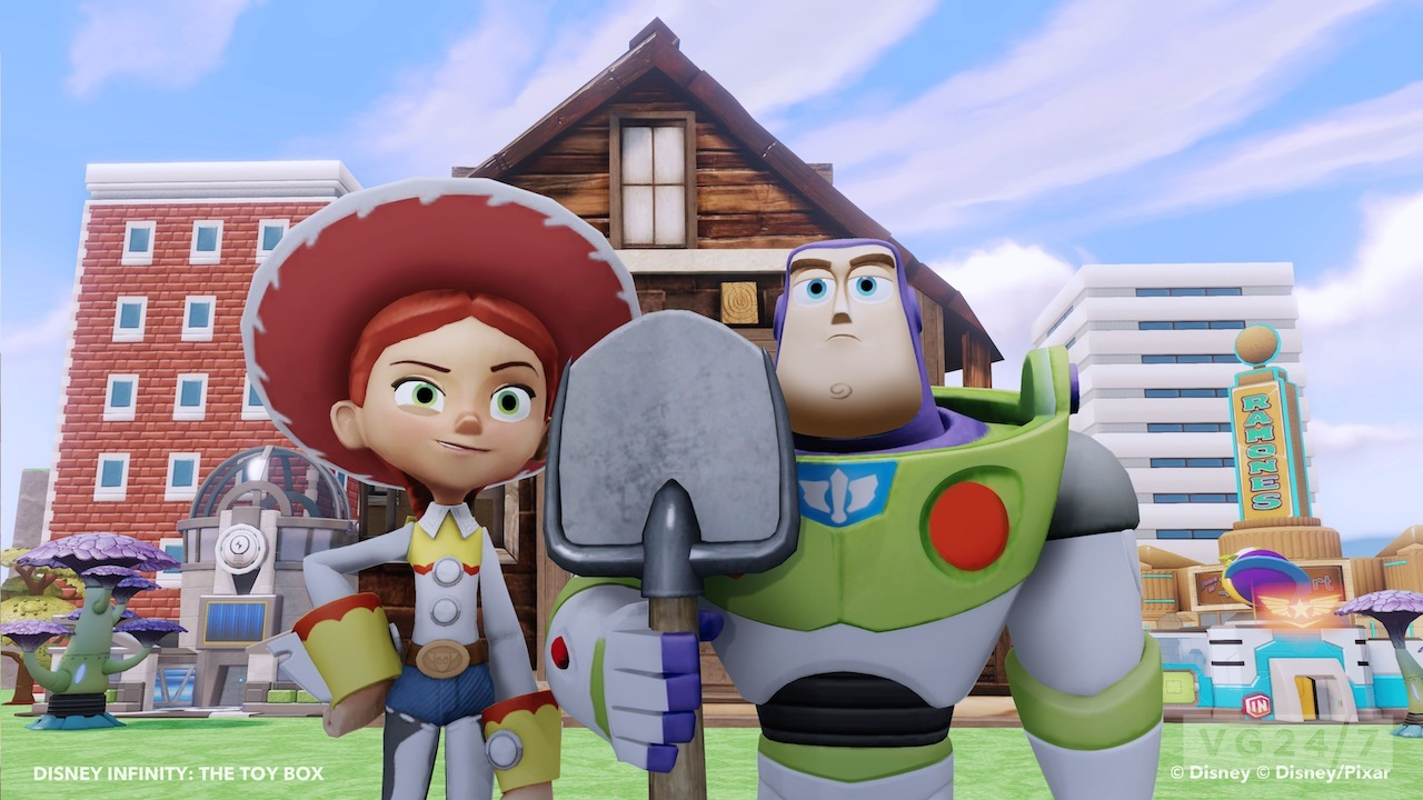 Disney Infinity trailer demos Toy Box mode world creation