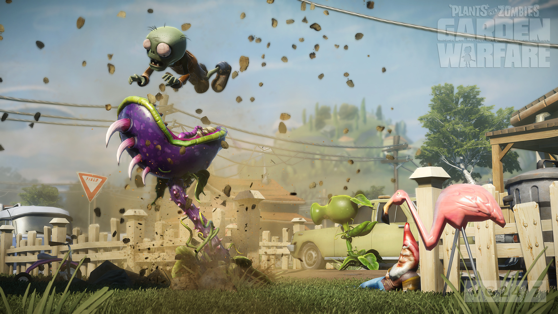 Plants Vs Zombies Garden Warfare Coming First To Xbox One