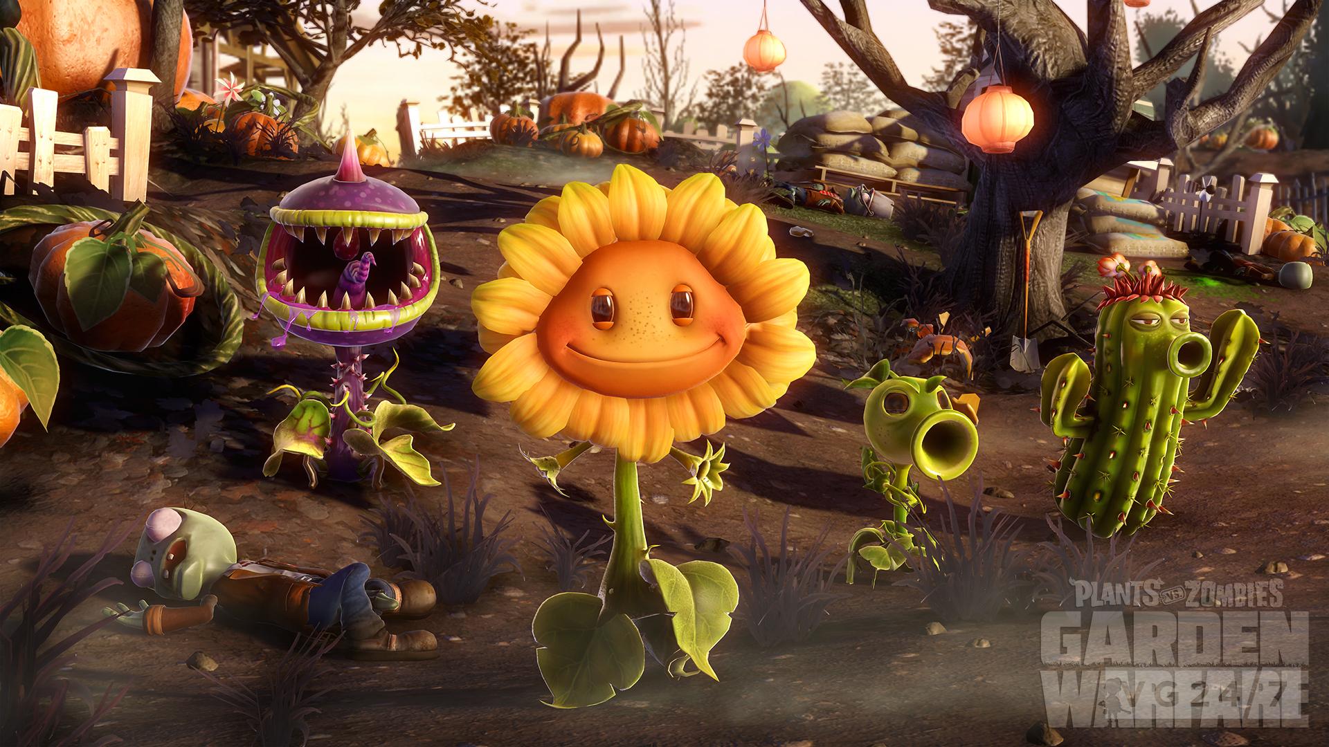 Plants vs zombies garden warfare coming first to xbox one - Plants vs zombies garden warfare xbox one ...