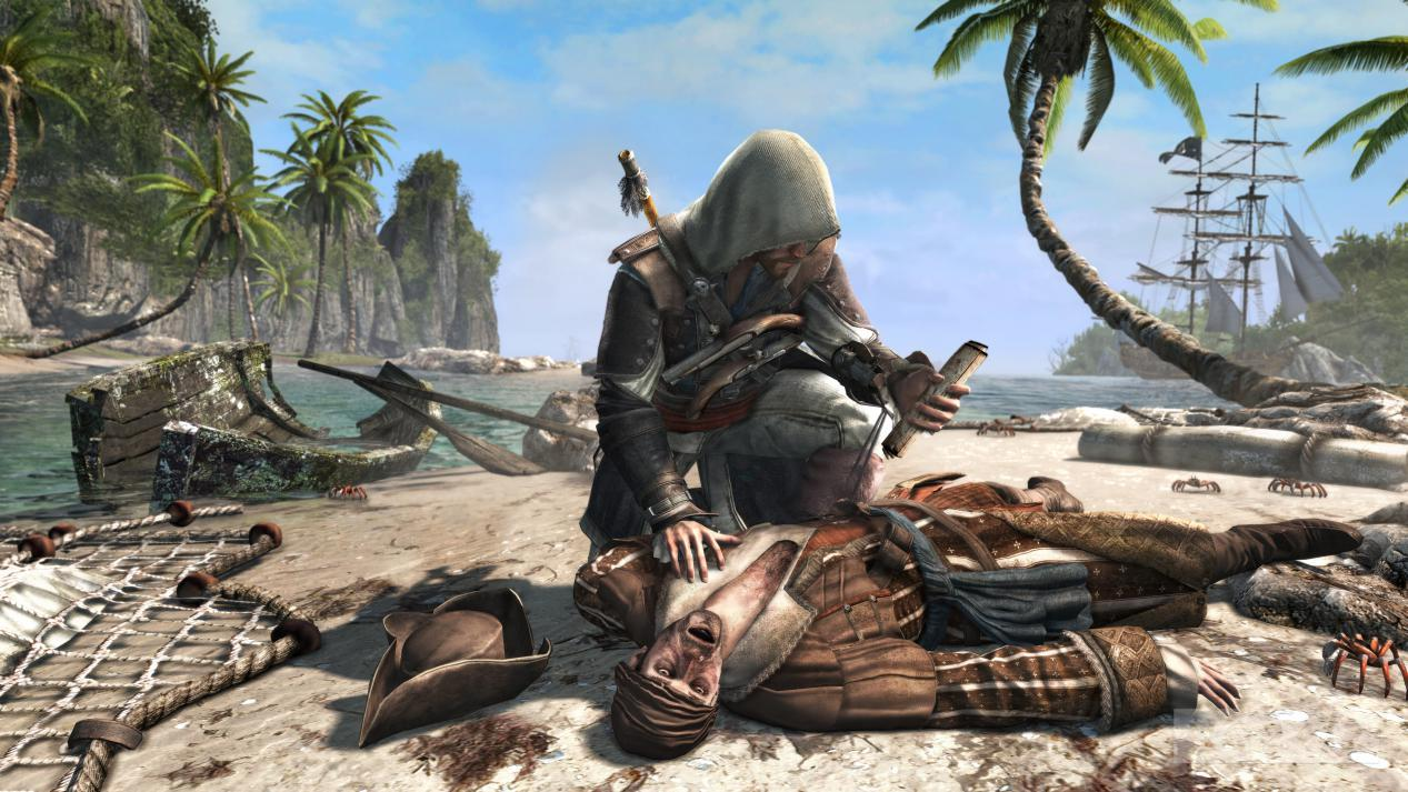 Assassin's Creed 4: Black Flag shots show shark combat ...