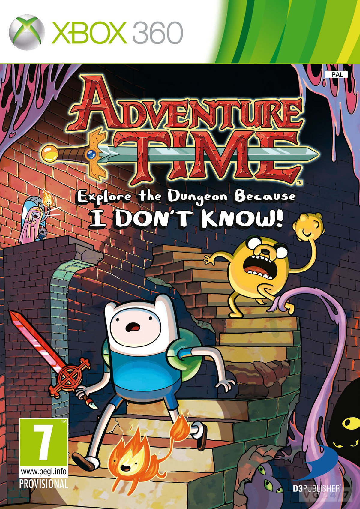 Adventure Time And Regular Show Assets Shows Off Both