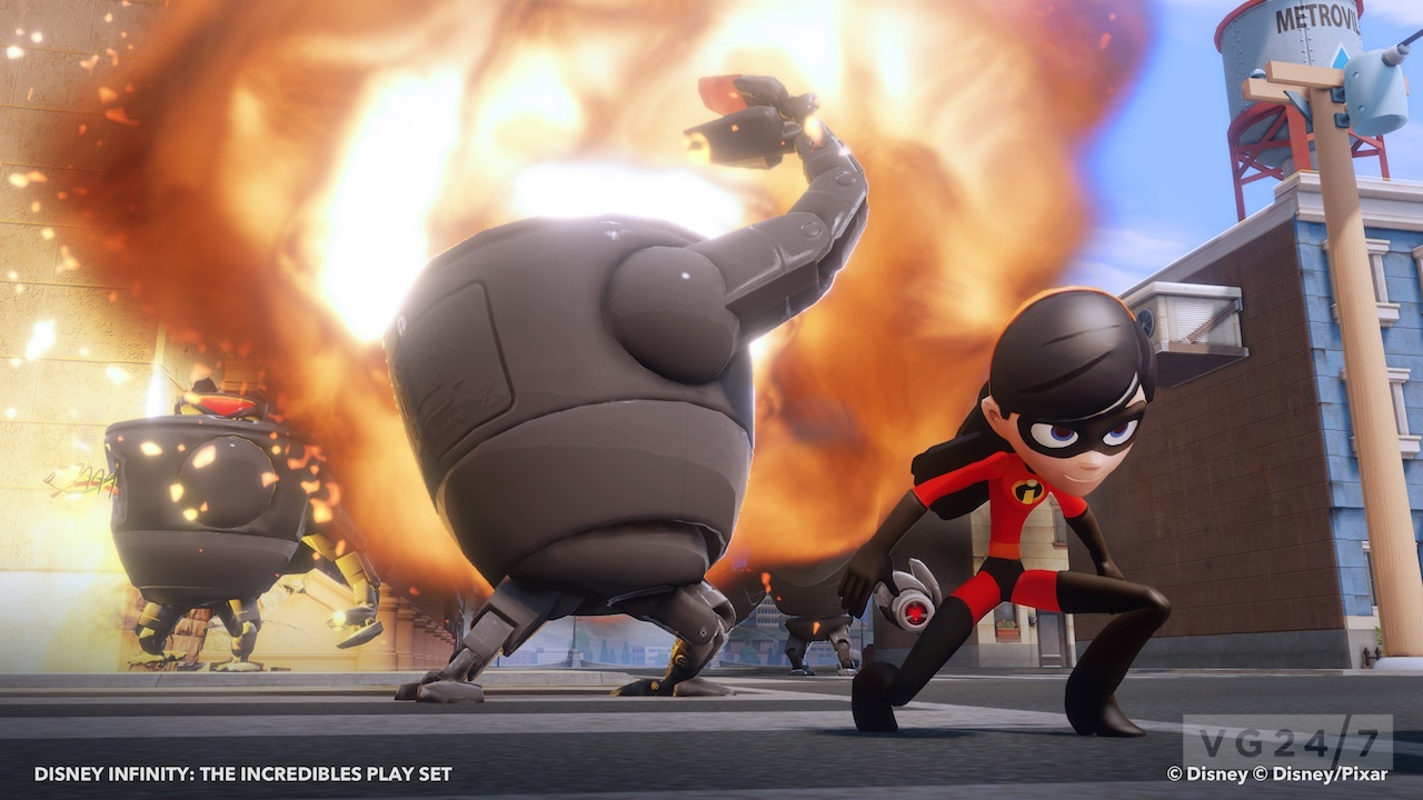 Disney Infinity Puts The Spotlight On The Incredibles Vg247