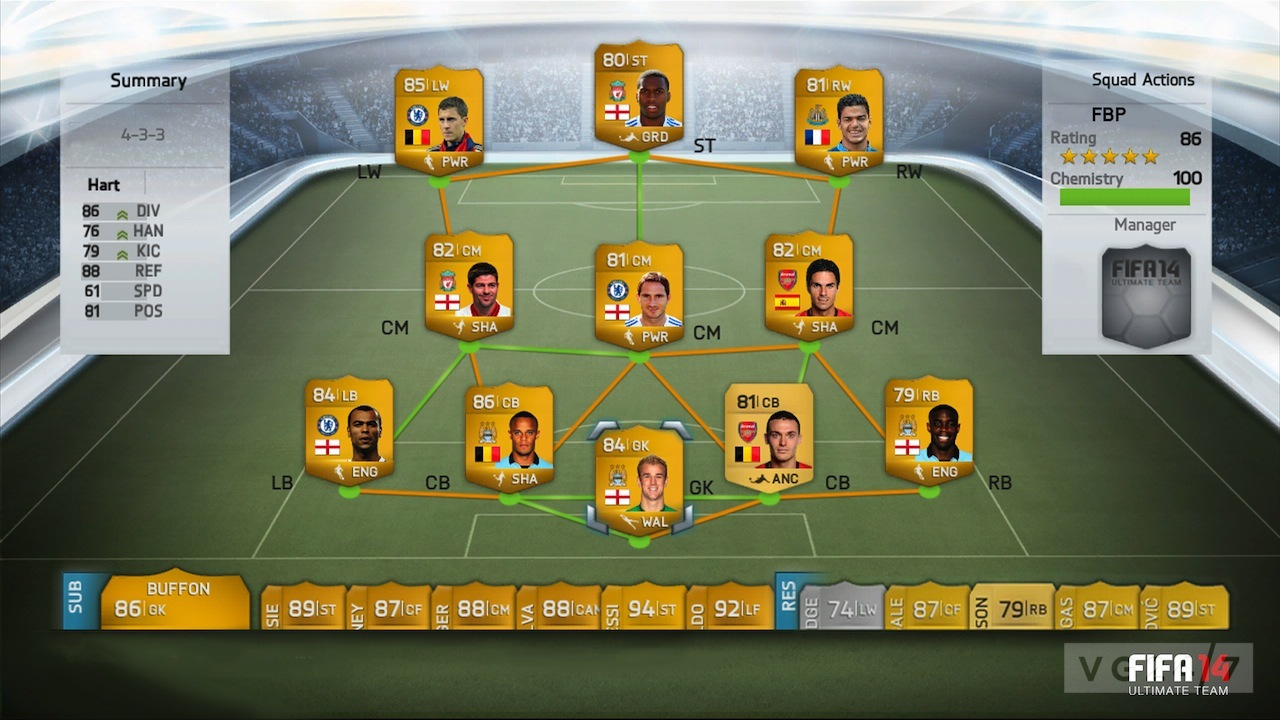 fifa 14 ultimate team cheap players