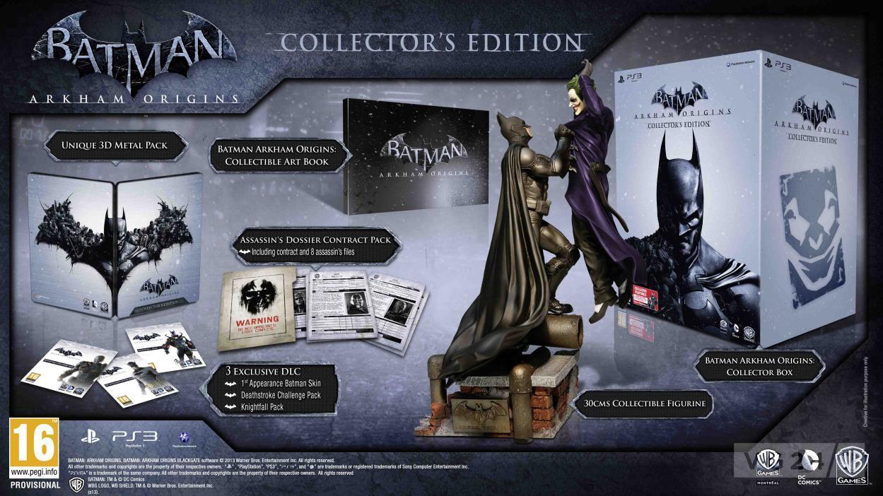 Batman  Arkham Origins Releases Worldwide On October 25 For PC  PS3