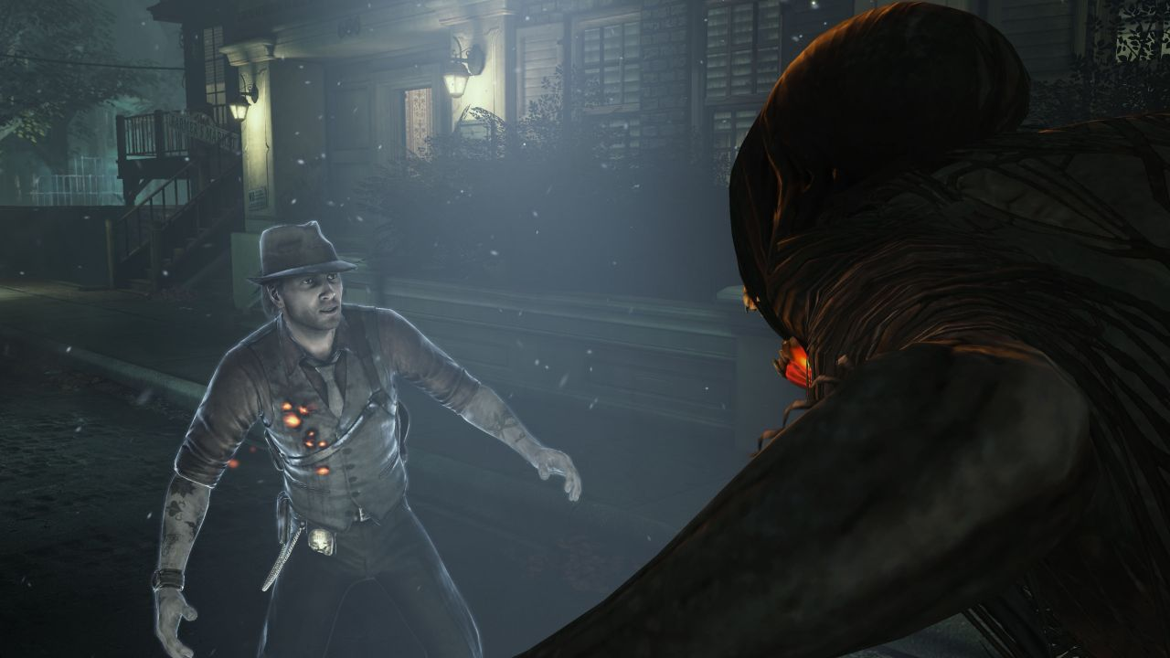murdered  soul suspect video shows a witness on the scene