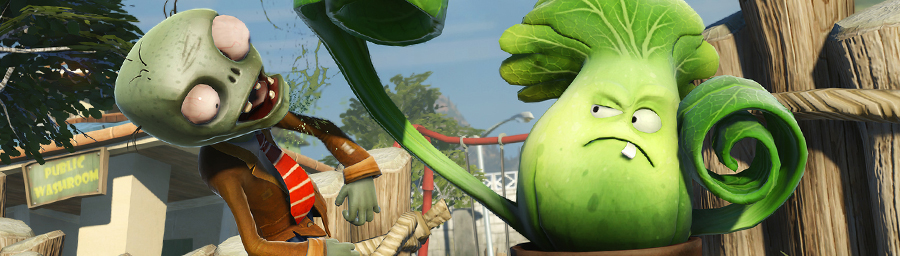 Plants Vs Zombies Garden Warfare Trailer Introduces Four