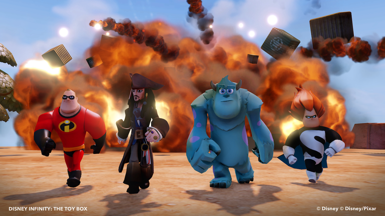 Disney Infinity Is Now A Free Download On Wii U Eshop Vg247