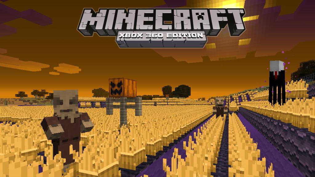 Minecraft: Xbox 360 Edition gets free Halloween-themed