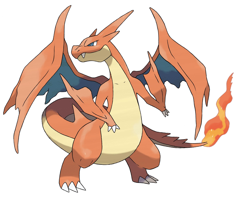 Pok mon x y mega charizard evolutions revealed mega - X evolution pokemon ...