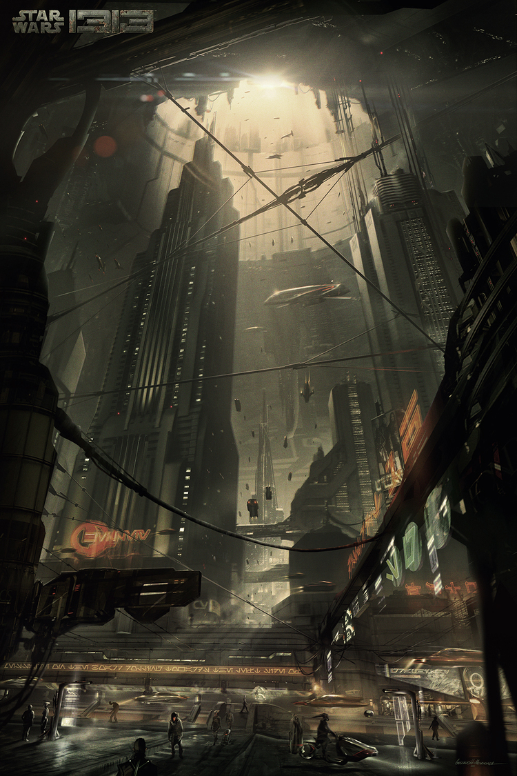 Star Wars 1313 concept art gives us new glimpse of Boba ...