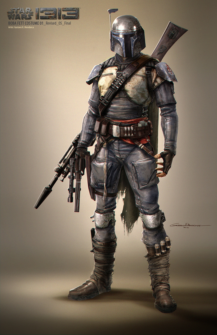 Star Wars 1313 concept art gives us new glimpse of Boba Fett's scrapped adventure