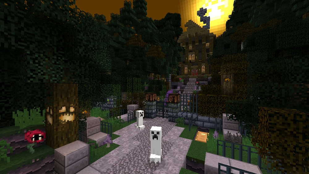 minecraft xbox 360 edition gets free halloween themed