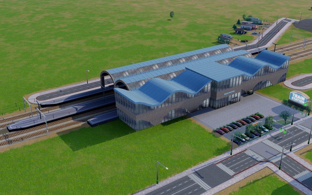 Simcity  Building Trains